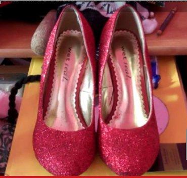 Glitzer Schuhe selbst machen